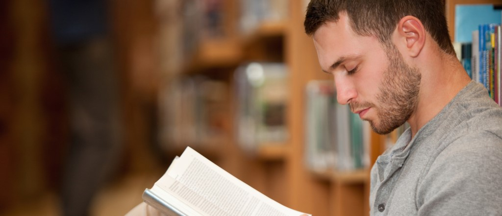 Simple Reading Strategies To Help You Read More Effectively - Man Reading