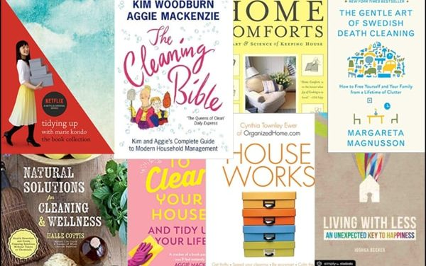 10 Best Cleaning and Organizing Books for Your Library